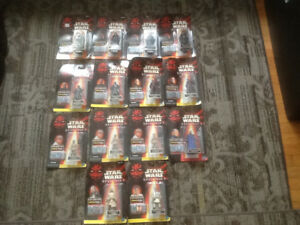 STAR WARS COMMTECH EPISODE I 3.75 ACTION FIGURES