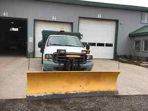 For sale Ford F550 salter plow truck