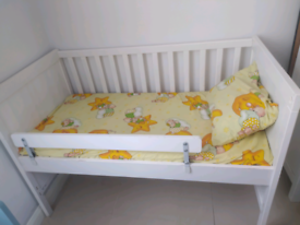 IKEA Sundvik Baby Kids Cot Bed - Condition (used). Mattress Included
