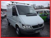 MERCEDES BENZ SPRINTER 2.2TD 208CDi SWB + PANEL VAN LOW ROOF