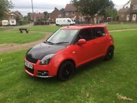 2010 Suzuki swift 1.3 sport rep full leather 43k