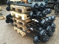 Ifor Williams trailer axles nugent hudson