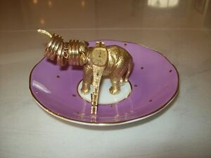 Lucky Elephant ring and jewelry holder