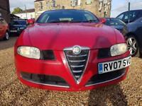 Alfa Romeo GT 2.0 JTS Lusso Red WARRANTY12 MONTHS MOT FULLSERVICE HISTORY