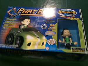 Phat Ride DJ Skribble's Spinheads POGO Toy NEW