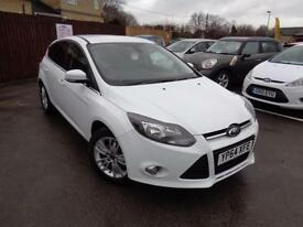 Dec 2014 Ford Focus 1.6TDCi ( 115ps ) ( S/S ) Titanium Navigator