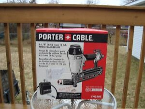NEW 16 G AIR FINISH NAILER PORTER CABLE FN-250-C