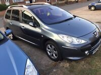 Peugeot 307 estate 7 seater fully loaded 2007 model