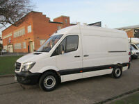 2014/64-REG Mercedes Sprinter NEW SHAPE 313CDI MWB HIGH ROOF. LOW 54,000 MILES.