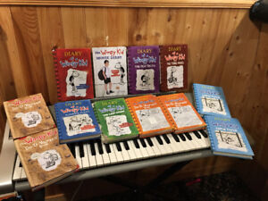 collection of Diary of Wimpy Kid