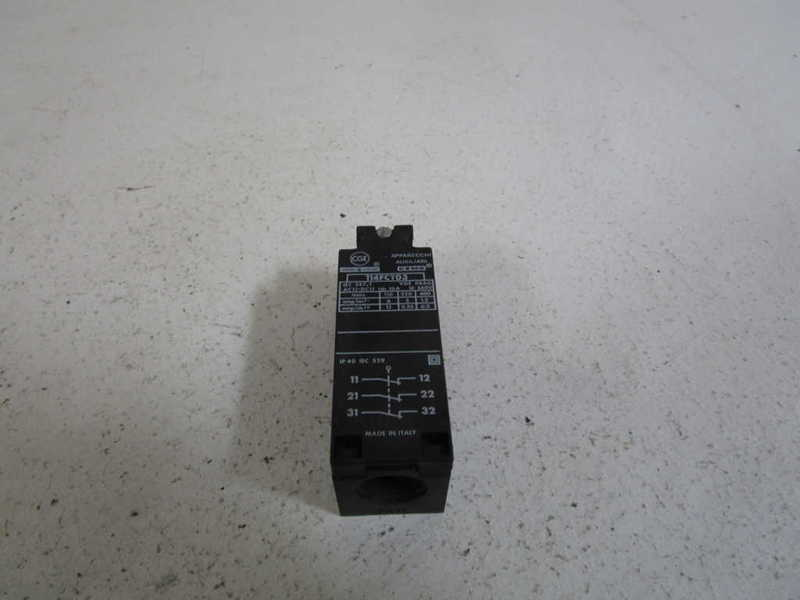GENERAL ELECTRIC SAFETY LIMIT SWITCH 114FCT03 * NEW NO BOX *
