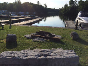 Boat slips located on the Trent Severn, Clear/Stony Lakes