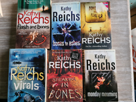 6 books by Kathy reichs