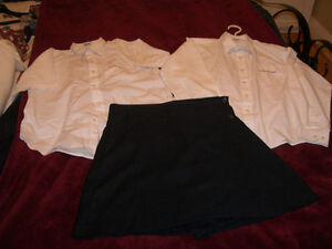 Blouse et pantalon uniforme college Francais