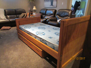 Crate Bed and Drawers