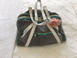 "Lululemon - ""Retro Style"" Gym / Club Bag  (rare/great condition)"