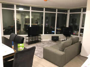 Furnished 2-BR 2-BA Suite at The Park Metrotown available Dec 1