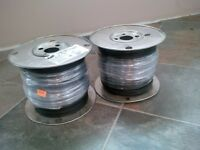 600 Meters of RW90 black wire $140 OBO