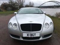 2004 BENTLEY CONTINENTAL 6.0 GT 2D AUTO 550 BHP
