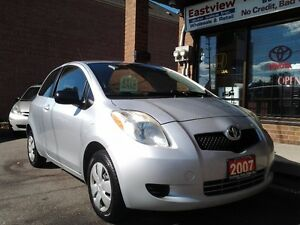 2007 Toyota Yaris 2DR,5 SPEED,NO ACCIDENT.$1988 Hatchback