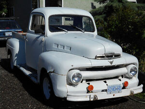 1951 Ford F-100 Original Flat head V-8