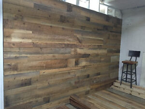 Barn Board Accent Walls - Reclaimed Accent Walls Kitchener / Waterloo Kitchener Area image 8
