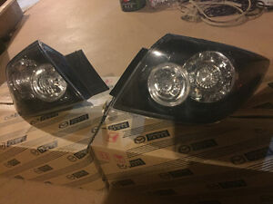 Mazda3 GT LED tail lights OEM - hatchback