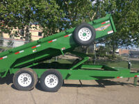 Rent a Dump Trailer from $100.00 per day