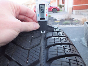 Pirelli Scorpion winter tires 225/55/R19 99H (almost new) Peterborough Peterborough Area image 5