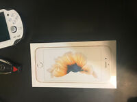 I phone 6s gold 128 gb unlocked brand new in the box