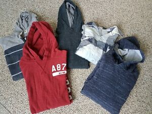 LOT of boys HOODIES 14-16 & small men's