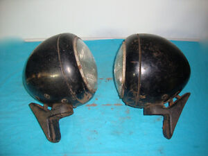 1930's 1940's Headlights Rat Rod or Hot Rod Ford Dodge GM