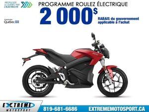 2017 ZÉRO MOTOCYCLES SR ZF13.0 + POWER TANK 70,81$/SEMAINE