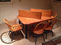 """Solid wood """"every-day"""" dining table"""
