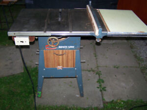 Tablesaw / Benchsaw - Tecomaster Table Saw - Made in Canada!