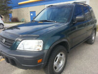 1998 HONDA CR-V AWD NO RUST SAFTIED CERTIFIED CLEAN CAR PROOF