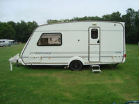 Abbey 470 Impression 2001 Two Berth Luxury Touring Caravan. Good condition, many extras. £3,950