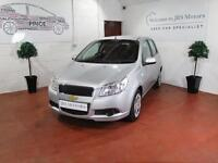 CHEVROLET AVEO 1.2 LS 5dr (silver) 2011