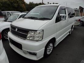 2001 Nissan Elgrand 3500 S-EDITION HI GRADE FRESH IMPORT 4dr