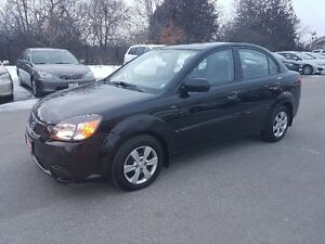 2011 Kia Rio Sedan *** CERTIFIED, LOW KM, BLUETOOTH ***