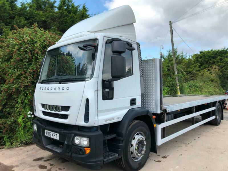 2012 IVECO EUROCARGO 180E25 FLATBED 18 TON IDEAL SCAFFOLDING 3 SEAT CAB |  in Weston-super-Mare, Somerset | Gumtree