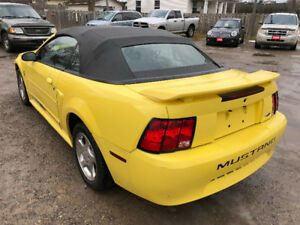 2003 Mustang Convertible/Leather/Chrome Rims/Mint Condition