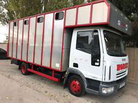 2004 04 Iveco Eurocargo 7.5 tonn horse box manual 4cly 16ft long