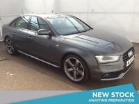 2014 AUDI A4 2.0 TDI 177 Black Edition 4dr Multitronic With Paddle Shift