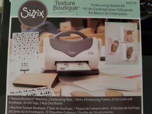 SIZZIX Embossing starter kit
