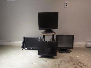 BENQ, PLANAR, HP, ACER Computer Monitors