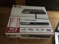 LG blu ray / DVD player - brand new in box