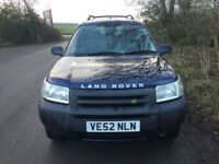 2003 52 Land Rover Freelander 2.0Td4 GS 3dr 4X4 BMW ENGINED DIESEL FSH DRIVES A1