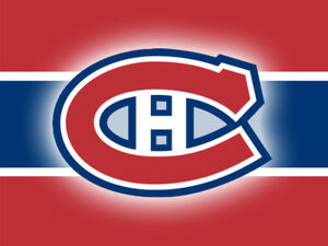 Canadiens vs Floride 24 octobre - Valeur de 160$