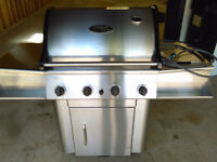 Natural gas Stainless Steel BBQ